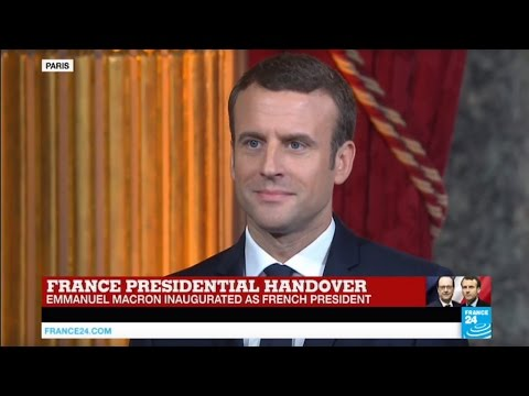 Download Youtube: France: Emmanuel Macron officially inaugurated president of the French Republic