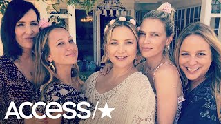 Kate Hudson Celebrates Baby Shower With Her A-List Pals