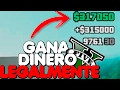 Como ganar mucho dinero Legalmente en GTA 5 Online