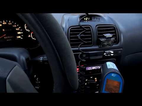Промывка печки Hyundai Accent