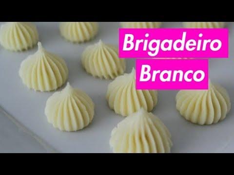 BRIGADEIRO BRANCO - PONTO DE BICO