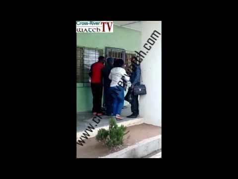 How DSS Operatives Brutalized Federal Government Girls College Calabar Staff VIDEO