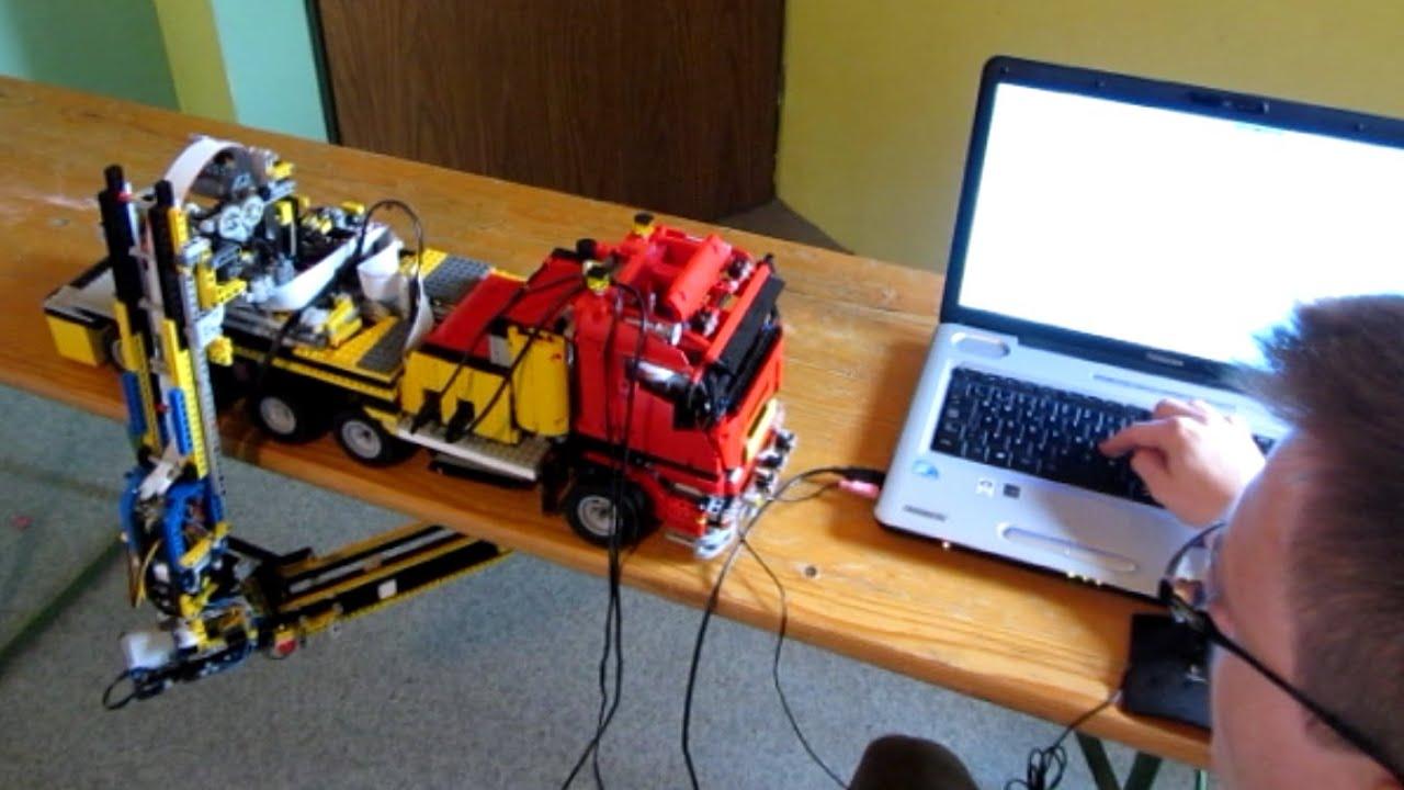 Arduino lego technik sprachsteuerung für