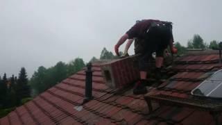 Прикол на крыше