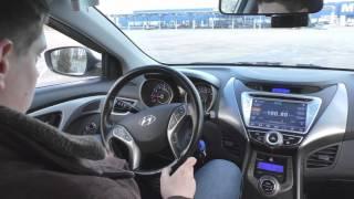 Hyundai Elantra 2011 1.8 6MT Обзор и тест драйв смотреть