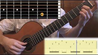 Как играть Love is blue (L'amour est bleu) на гитаре. Разбор с табами. (Guitar Lesson, tabs)