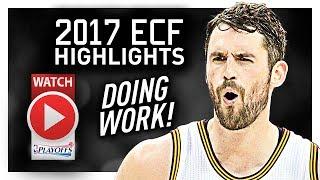 Kevin Love ECF Offense Highlights VS Celtics 2017 Playoffs - Ready For NBA Finals!