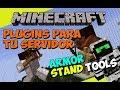 Minecraft: Plugins para tu Servidor - Armor Stand Tools (Crea Armor Stands de Manera Muy Rapida!)
