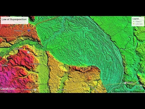 Carolina Bay LiDAR Field Trip: Superposition and the Flood Plains of the East Coast Part 1