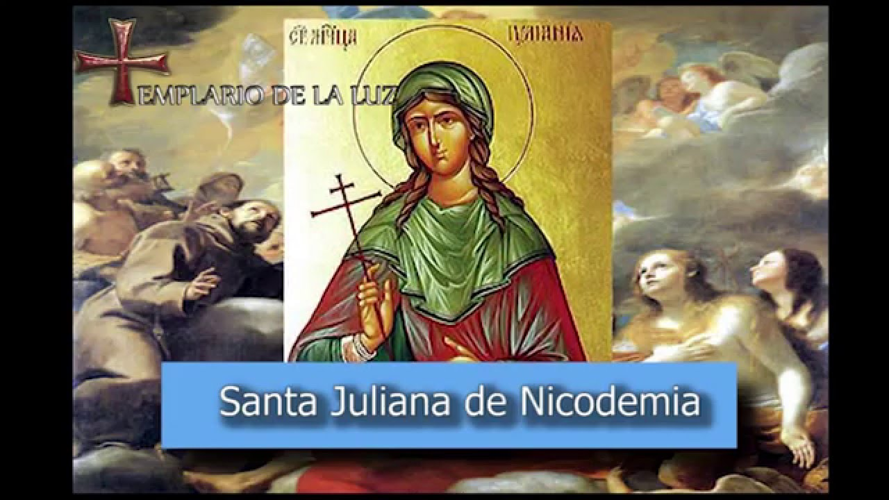 saint juliana of nicodemia Here followeth the life of s rocke s rocke was born in montpelier, which is a town of great name upon the border of france, and was born of noble progeny.