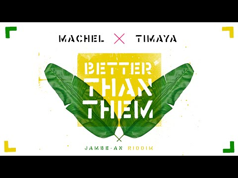 Better Than Them (Official Audio) - Machel Montano & Timaya   Soca 2016