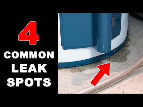 Water Heater Leaking. Does It Need to be Replaced?