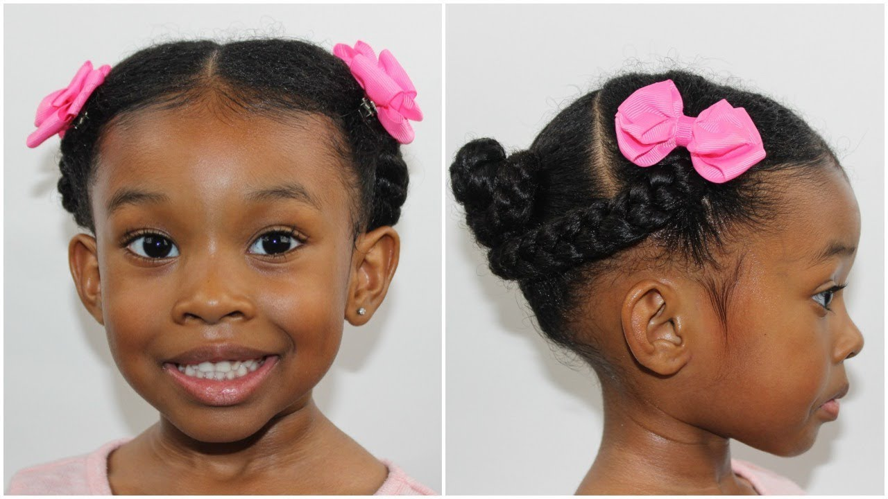quick cute 10 minute hairstyle | kid hairstyles for girls