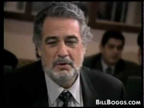 Plácido Domingo Interview with Bill Boggs