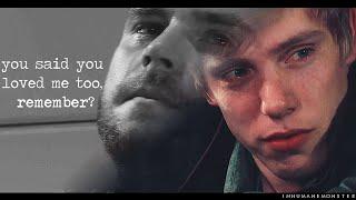 aaron/robert | you said you loved me too, remember?