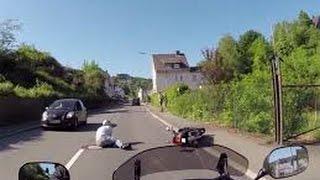 Top 3 Biker Hit And Runs (CRAZY!!!)