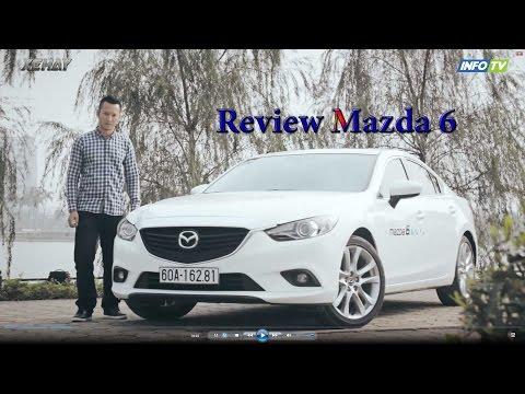 nh gi xe Mazda 6 Trng Hi lp r p