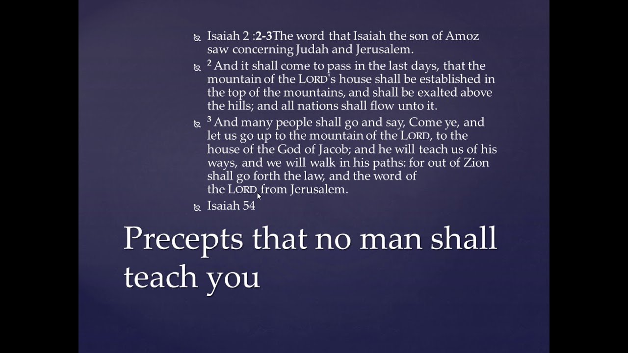 RE-Upload - Are We in the New Covenant- Israel Engagement To Messiah