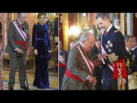 Spain's former King Juan Carlos makes rare appearance
