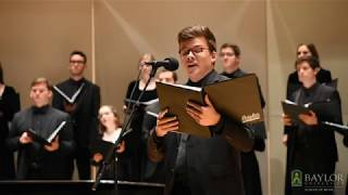 Ubi Caritas (Ola Gjeilo) - Baylor University A Cappella Choir