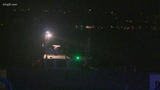 Washington State Ferry Hits Whale In Elliott Bay