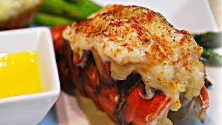 Broiled Lobster Tail in Under 7 mins! (Steakhouse Style)