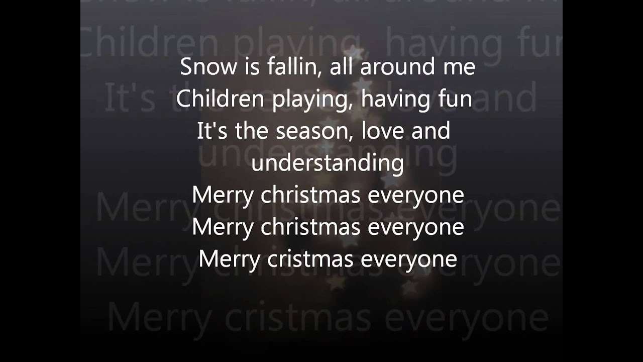 shakin stevens snow is falling youtube