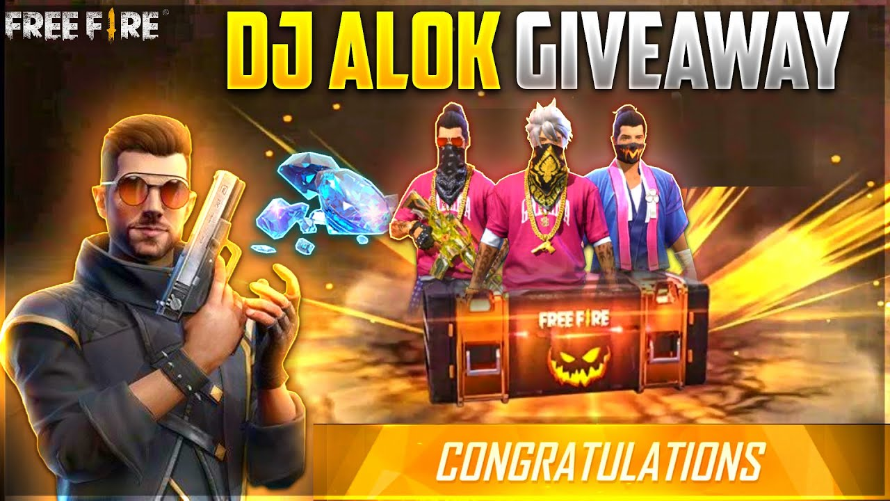 Free DJ Alok For All ! Sabko Milega Diamonds - Free Fire Live 13 August Gameplay Free Store Items