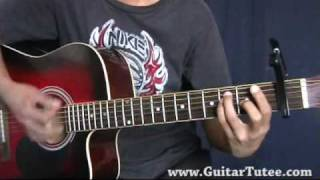 Bottom Of The Ocean (of Miley Cyrus, by www.GuitarTutee.com)