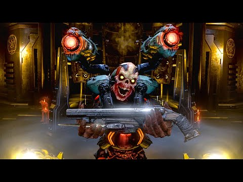 Download DOOM ETERNAL Playing As Revenant DEMON Gameplay Walkthrough [4K 60FPS PC] - No Commentary