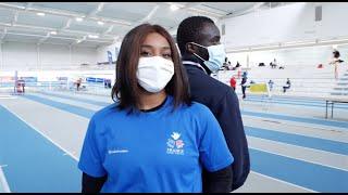Inside : Gloria Agbegmagnon et Charles-Antoine Kouakou aux Chpts d'Europe d'athlétisme sport adapté