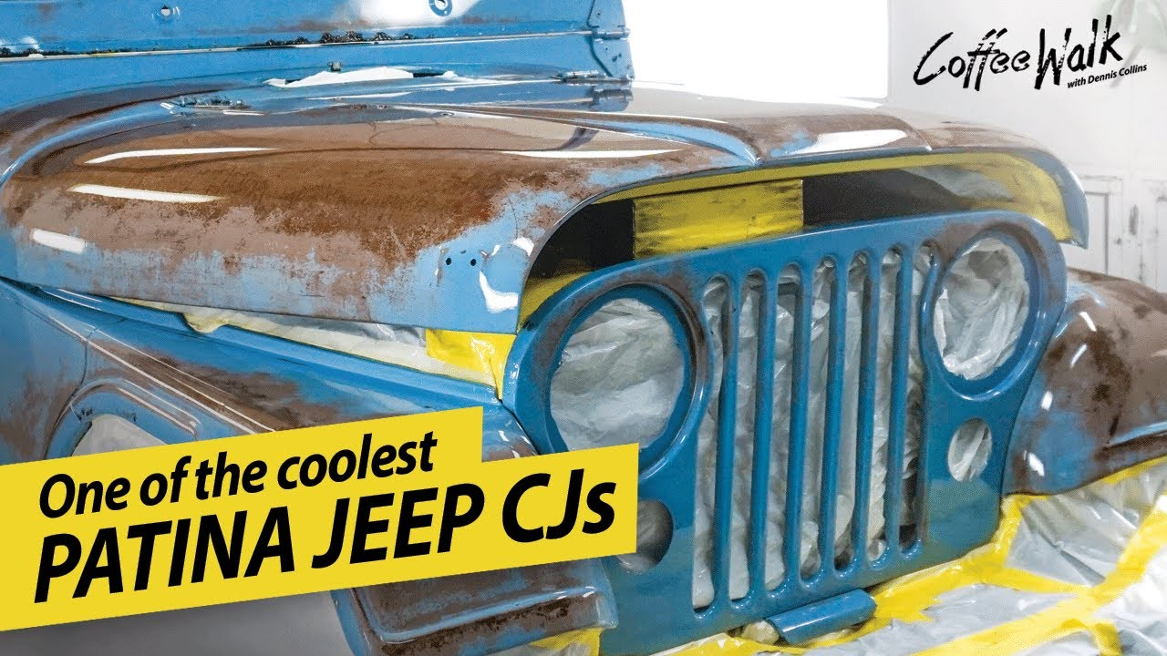 Clear Coat Brings Patina Jeep CJ Back To Life!