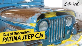 Clear Coat Brings Patina Jeep CJ Back To Life!