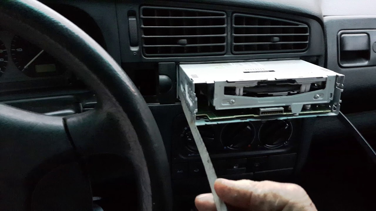 How To Remove An Alpine Car Deck Without Special Tools Youtube Stereo Wiring Diagram Kenwood Kdc 6011