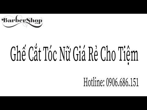 Ghế Cắt Tóc Nữ Giá Rẻ Tại Tp Hồ Chí Minh