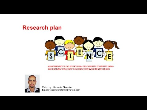 Research plan - Petroleum chemistry and refinery