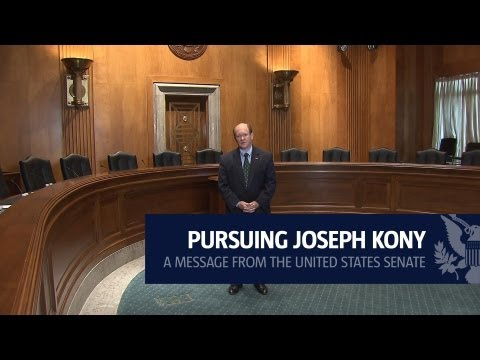 Pursuing Joseph Kony: A Message from the United States Senate