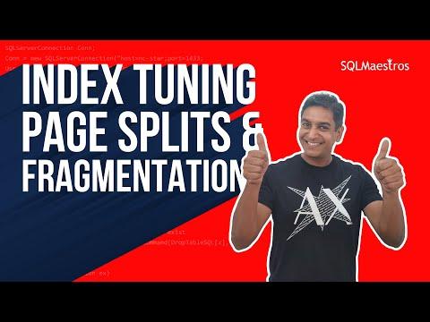 Index Tuning – Page Splits & Fragmentation (by Amit Bansal)