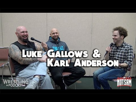 Gallows & Anderson- Favorite Wrestling Buildings, Finn Balor, Kane, etc- Sam Roberts