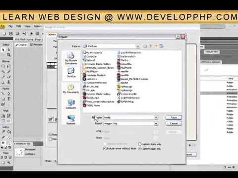 Fireworks CS4 Progress Loader Animation Imported Into Flash 8   CS3   CS4 Tutorial