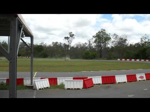 Mareeba Makotrac go karting in PW300 4 stroke single rotor rotary 3 star licence