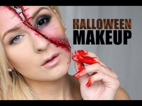 Laskiga Halloween Sminkningar.Halloween Sminkning Youtube