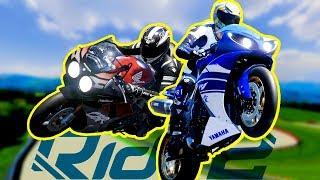 LA MIA MOTO vs LA MOTO DI SINNAGGAGGHIRI (Sfide estreme Ride 2)