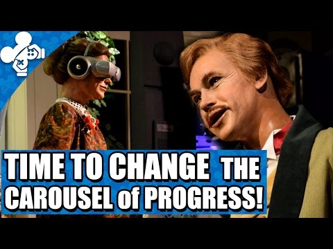 Time To Change The Carousel Of Progress!