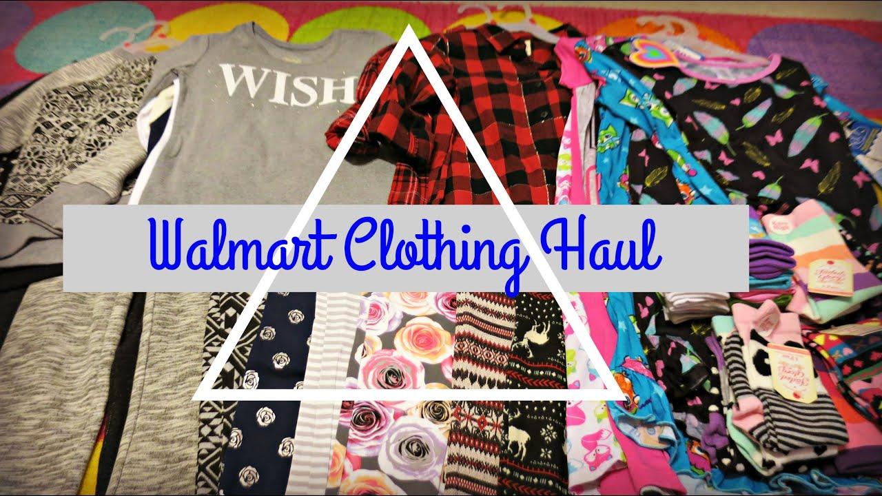 51bb2ca50 WALMART CLOTHING HAUL {KIDS} - YouTube