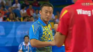 马琳VS王励勤  2008北京奥运会男单半决赛 标清