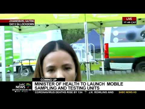 SA Lockdown Day 6 | Health Minister Mkhize To Launch COVID-19 Mobile Testing Units