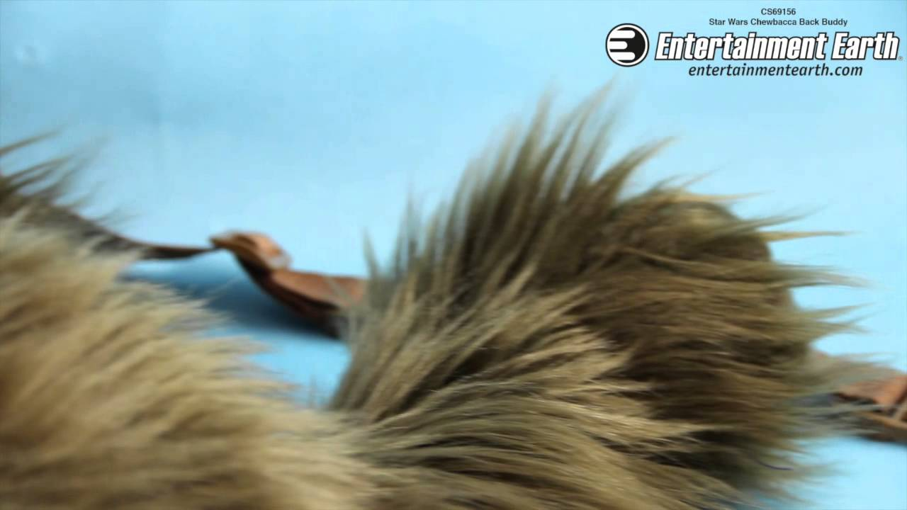 e86af3a15f6 Star Wars Chewbacca Back Buddy - YouTube