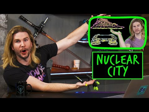 Nuclear-Powered City | Because Science Footnotes