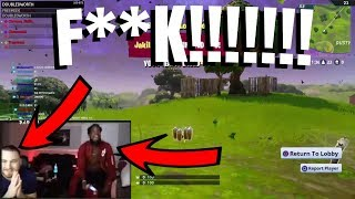 CashNasty Plays Fornite For The First Time With LosPollosTv *Funny Rage*